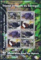 WWF: Teknős kisív WWF: Turtle mini sheet