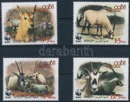 WWF: Arabian oryx set WWF: Arab bejza sor