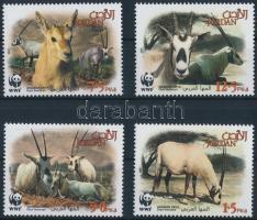 WWF: Arabian oryx set, WWF: Arab bejza sor