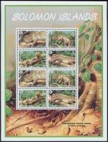 2005 WWF: Óriás zebragyík teljes ív Mi 1282-1285