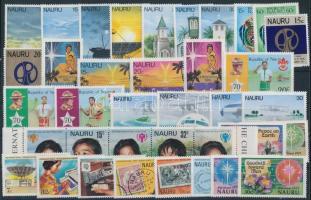 1977-1979 37 stamps, almost three full year editions 1977-1979 37 klf bélyeg, csaknem a teljes három évfolyam kiadásai