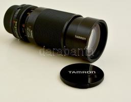 Tamron 80-210 mm teleobjektív, Fujica AX bajonettel, jó állapotban