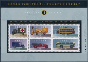Történelmi járművek (II.) blokk Historic Vehicles (II) block