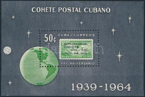 1964 Űrkutatás blokk Mi 24