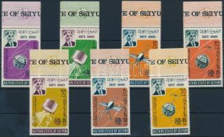 1966 Nemzetközi Telekommunikációs Unió ívszéli sor Mi 84-90 A