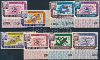 1966 Nyári olimpia sor Mi 80-87 A ívszéli értékekkel