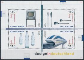 German design block Német formatervezés blokk