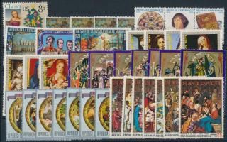 Art 1972-1973 9 sets, Művészet motívum 1972-1973 9 klf sor