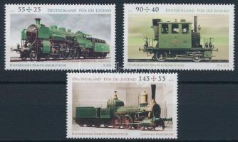 Történelmi mozdonyok sor Historical locomotives set