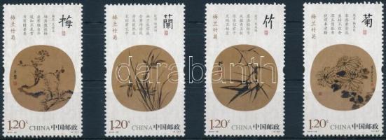 2010 Történelmi növényábrázolások sor Mi 4196-4199