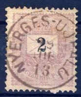 1898 2kr NYERGES-UJFALU