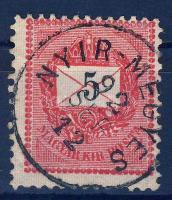 1889 5kr NYIR-MEGYES