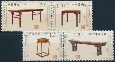 2012 MIng és Qing dinasztia bútorai sor párokban Mi 4351-4354