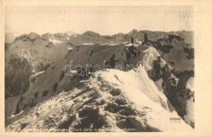 WWI Hungarian military, 10. hadsereg parancsnokság, Tiszti járőr a magas hegységben; Hadifénykép Kiállítás