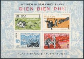Battle of Dien Bien Phu block Dien Bien Phu csata 10 éves évfordulója blokk