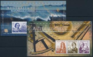 International Stamp Exhibition blockset Nemzetközi bélyegkiállítás blokk sor