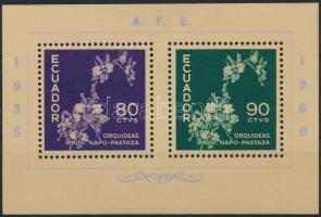 1960 25 éves a Bélyeggyűjtők Szövetsége blokk Mi 8