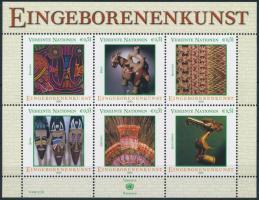 Indigenous art (I) block, Bennszülött művészet (I) blokk