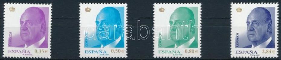 2011 Forgalmi, I. Juan Carlos sor Mi 4584-4587