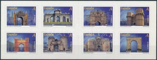 Műemlékek (I.) öntapadós bélyegfüzet Monuments (I.) self-adhesive stamp-booklet