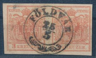 1850 3kr MP pár ,,FÖLDVÁR