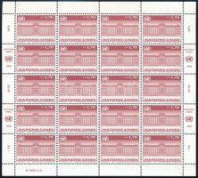 Definitive mini sheet Forgalmi kisív