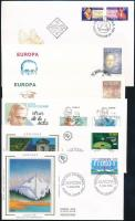 Europa CEPT Felfedezések és találmányok 6 klf FDC, Europe CEPT Discovery and Inventions 6 diff FDC