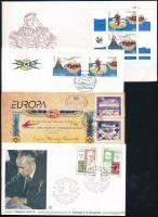 Europa CEPT Discovery and inventions 4 FDC Europa CEPT Felfedezések és találmányok 4 klf FDC