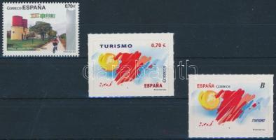 2012 Turizmus 3 klf bélyeg (ebből 2 öntapadós)
