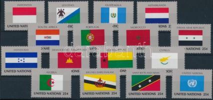 Flag set, Zászló sor