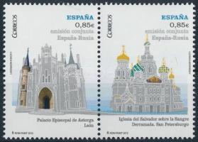 2012 Orosz épületek pár Mi 4713-4714