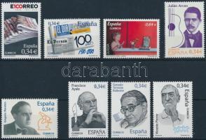 3 sets + 1 block + 3 stamps, 3 db sor + 1 blokk + 3 db önálló érték 2 stecklapon