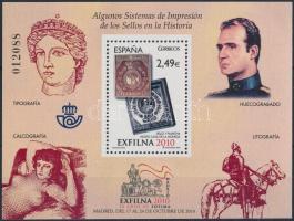 2010 Nemzetközi bélyegkiállítás EXFILNA: Madrid blokk Mi 201