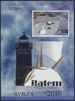2010 FILATEM 2010 Bélyegkiállítás blokk Mi 194