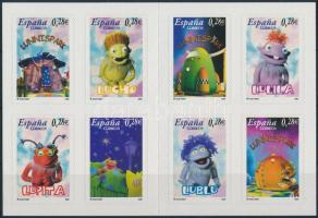 2005 Gyermekekért, mesefigurák öntapadós bélyegfüzet Mi MH 0-19 (Mi 4063-4070)