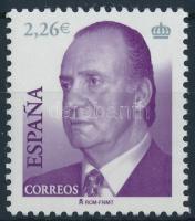 2006 Forgalmi: I. János Károly spanyol király Mi 4099