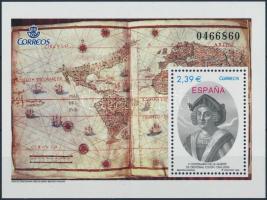 2006 Kolumbusz Kristóf halálának 500. évfordulója blokk Mi 148