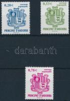 2005 Andorra címere sor Mi 319-321