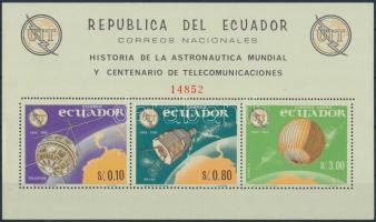 1966 Űrkutatás blokk Mi 16