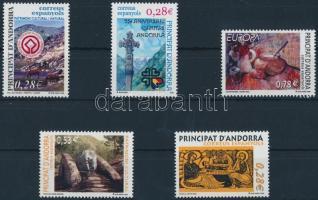 2005 5 különféle bélyeg