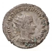 Római Birodalom / Róma / III. Gordianus 243-244. Antoninianus Ag (3,9g) T:2 Roman Empire / Rome / Gordian III 243-244. Antoninianus Ag IMP GORDIANVS PIVS FEL AVG / FELICIT TEMP (3,9g) C:XF RIC IV 140.
