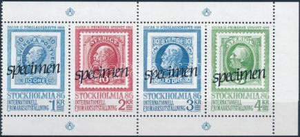 """Bélyegkiállítás blokk """"SPECIMEN"""" Stamp Exhibition block """"SPECIMEN"""""""