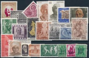 Almost complete year Csaknem teljes évfolyam kiadásai, közte hivatalos bélyegek is