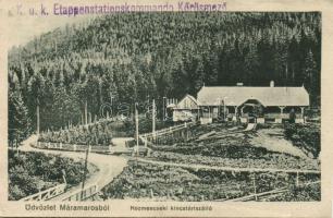 Yasinia, hotel, Körösmező, Kozmescseki kincstári szálló