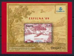 International Stamp Exhibition EXFILNA block, Nemzetközi bélyegkiállítás EXFILNA blokk