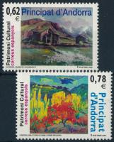 2009 Kulturális értékek: Festmények sor Mi 364-365