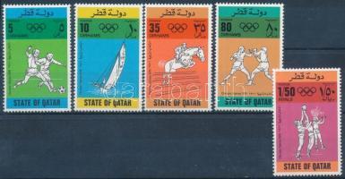 Olympics set 5 values (missing Mi 695), Olimpia sor 5 értéke (hiányzik Mi 695)