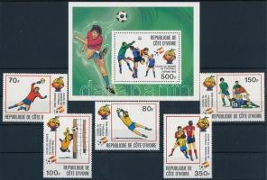 Football World Cup Winner Spain set + block Labdarúgó VB győztes Spanyolország sor + blokk