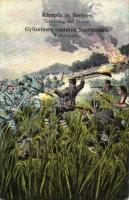 Győzelmes csatáink Szerbiában, a Macsvában / WWI K.u.K. military in Serbia, L&P 2135.