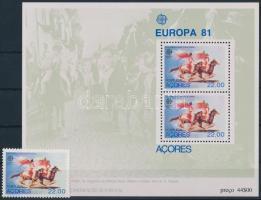 Europa CEPT 10 sets + 1 block + 2 stamps Europa CEPT motívum 10 klf sor + 1 blokk + 2 db önálló érték